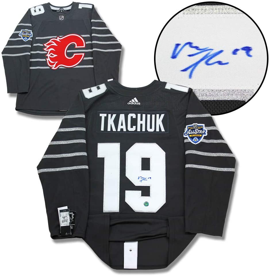 Matthew Tkachuk 2020 All Star Game Signed Calgary Flames Adidas Jersey At Amazon S Sports Collectibles Store