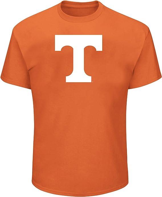 Arch Heather Grey NCAA Mens Big and Tall Short Sleeve Cotton Tee Shirt