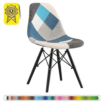 Decopresto Venta 1 x Silla del diseñador Piernas: Madera ...
