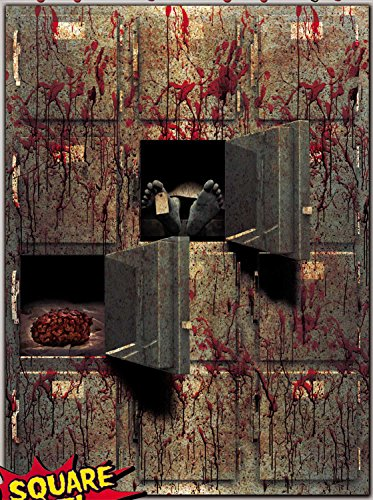 Bloody Horror GIANT MORGUE WALL GORE DECOR Halloween Prop Decoration Autopsy CSI ()