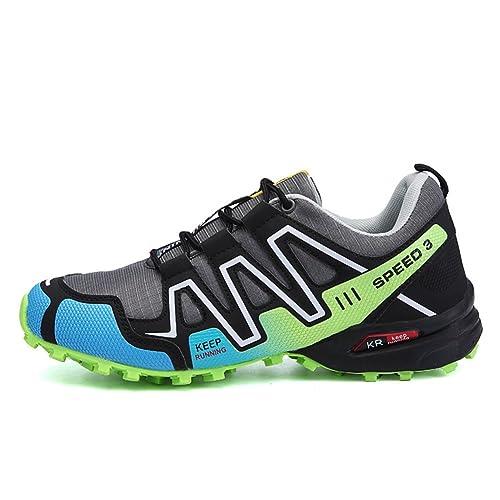 Hommes Chaussures En Plein Air Rétro De Course Sneakers Véritable Confortable De Sport De Bonne Qualité Marche Chaussures Taille 43 t9fMIV