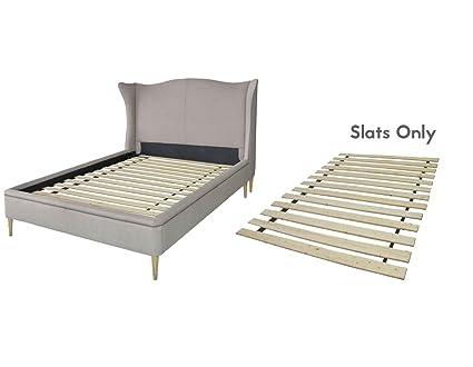 amazon com spring solution heavy duty wooden slats california king