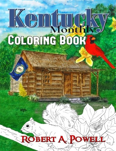 Kentucky Monthly Coloring Book (Kentucky State Symbols)