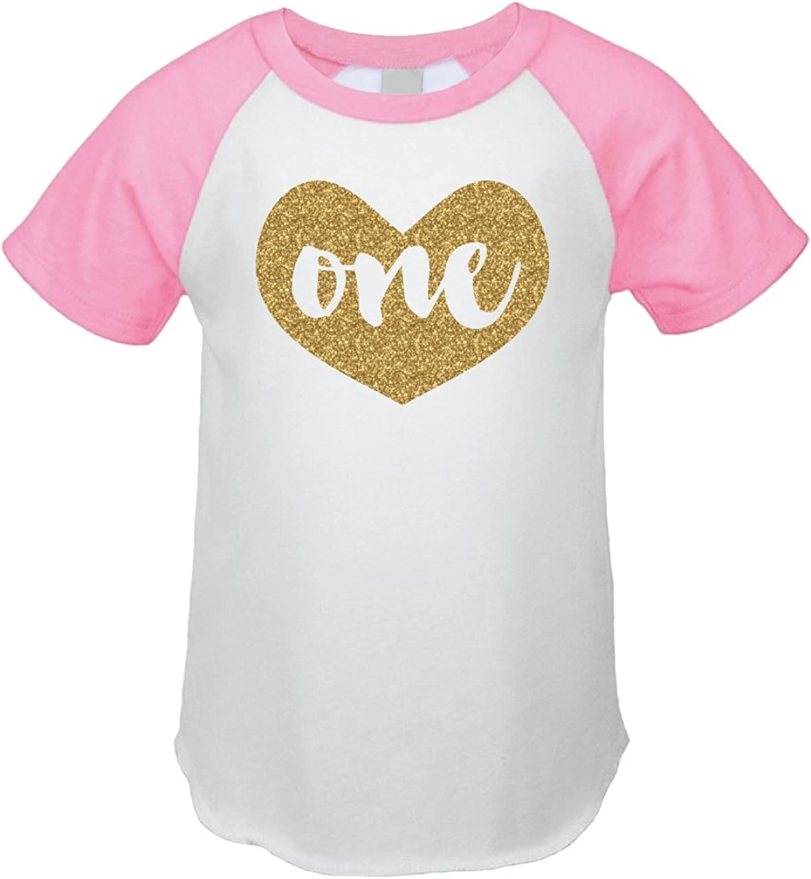 First Birthday Outfit Girl One Year Old Girl Birthday T-Shirt 61tMTJwhlOL