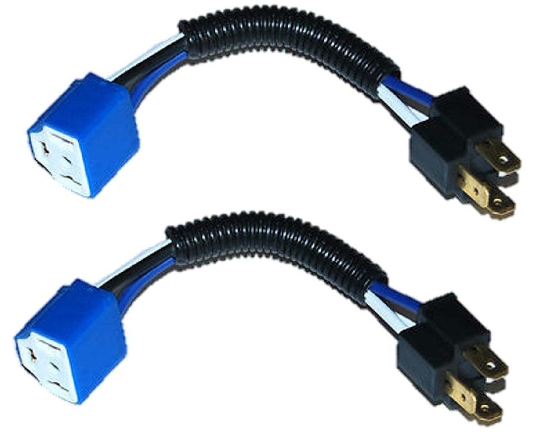 Hipro Power H4 9003 Heavy Duty Ceramic Headlight Wire Honda Headlamp Harness Automotive