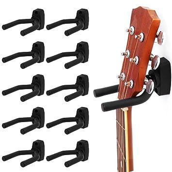 Surfmalleu 10PCS Soporte Pared Guitarra Colgador de Guitarra ...