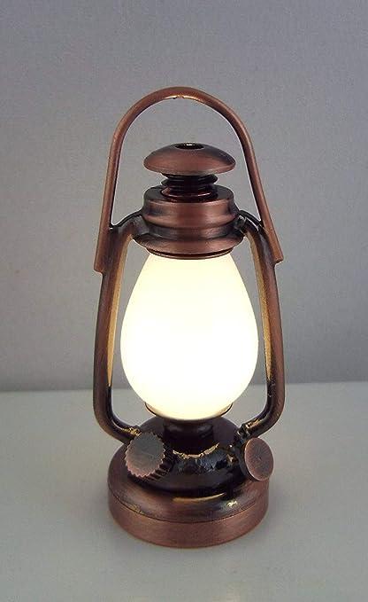 1//12 Scale Miniature Dollhouse Accessories Decoration Mini Oil Lamp Kids Toy Hot