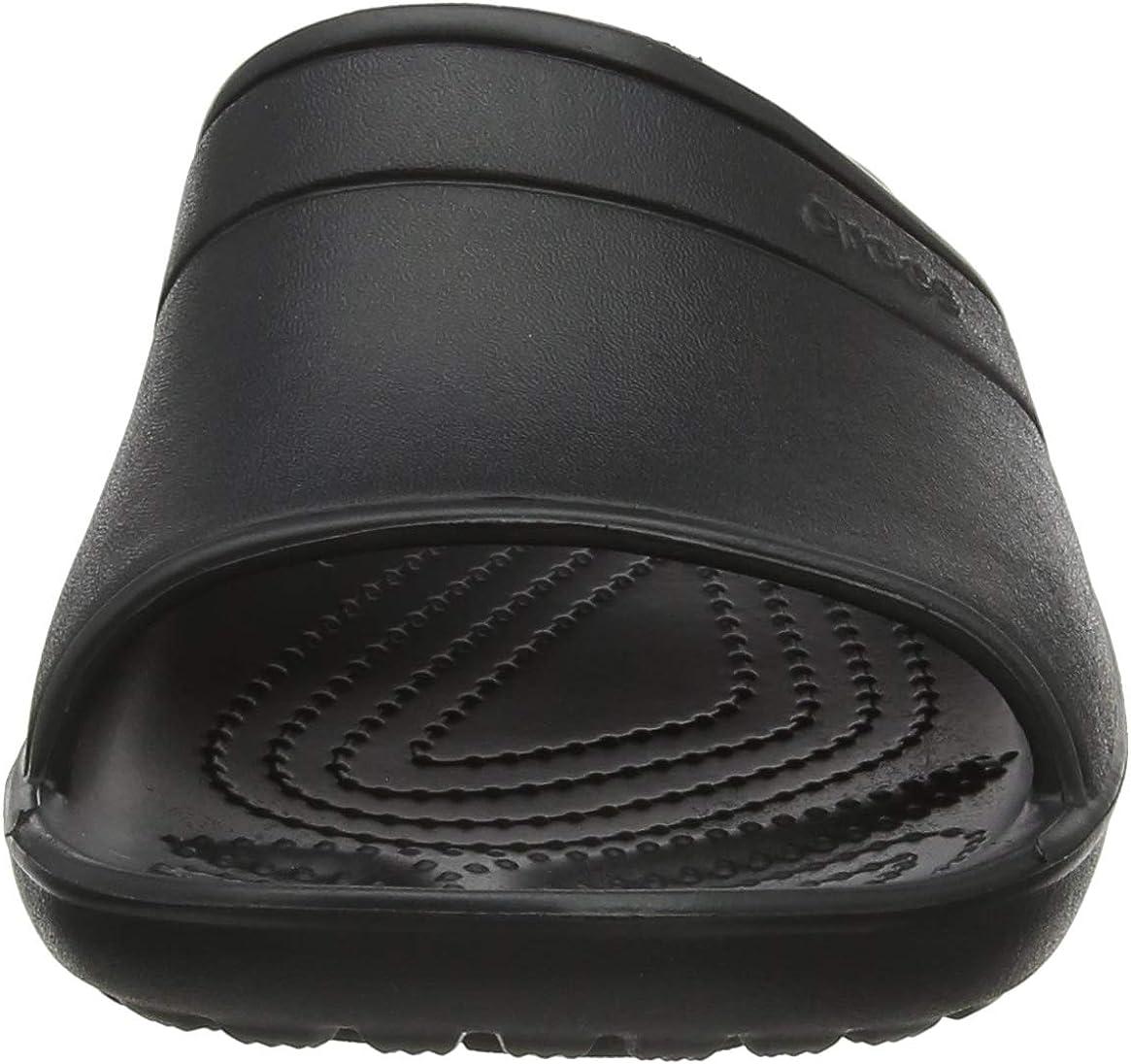 Crocs Classic Slide, Mules Mixte Noir Black