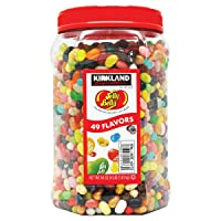 Kirkland Signature Jelly Belly 49 Flavors Of The Original Gourmet Jelly Bean - 4...