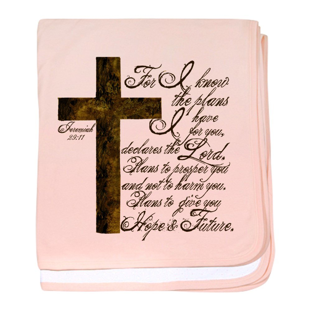 CafePress - Plan Of God Jeremiah 29:11 - Baby Blanket, Super Soft Newborn Swaddle