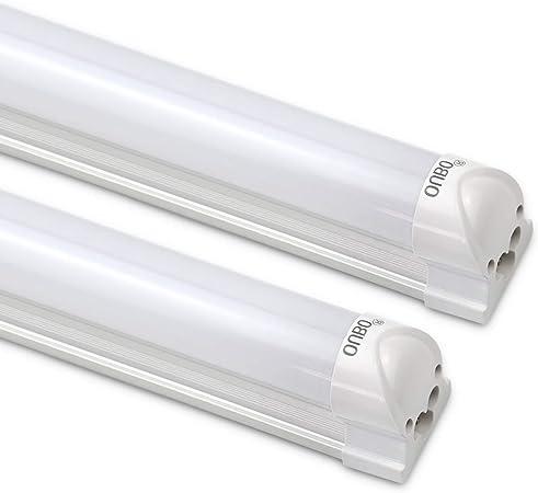 4X 10W 60cm T5 LED Röhren Tube Leuchtstoffröhre SMD Lampe Leuchte Warmweiß
