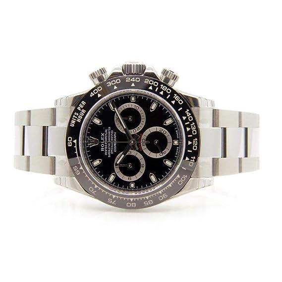Rolex Daytona 116500 - Reloj automático, autoviento, diseño de hombre (certificado de autenticidad