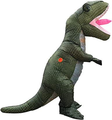 Amazon.com: T-rex Inflatable Dinosaur Costume Crocodile ...