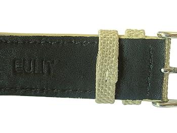 20mm Tan Canvas Watch Strap