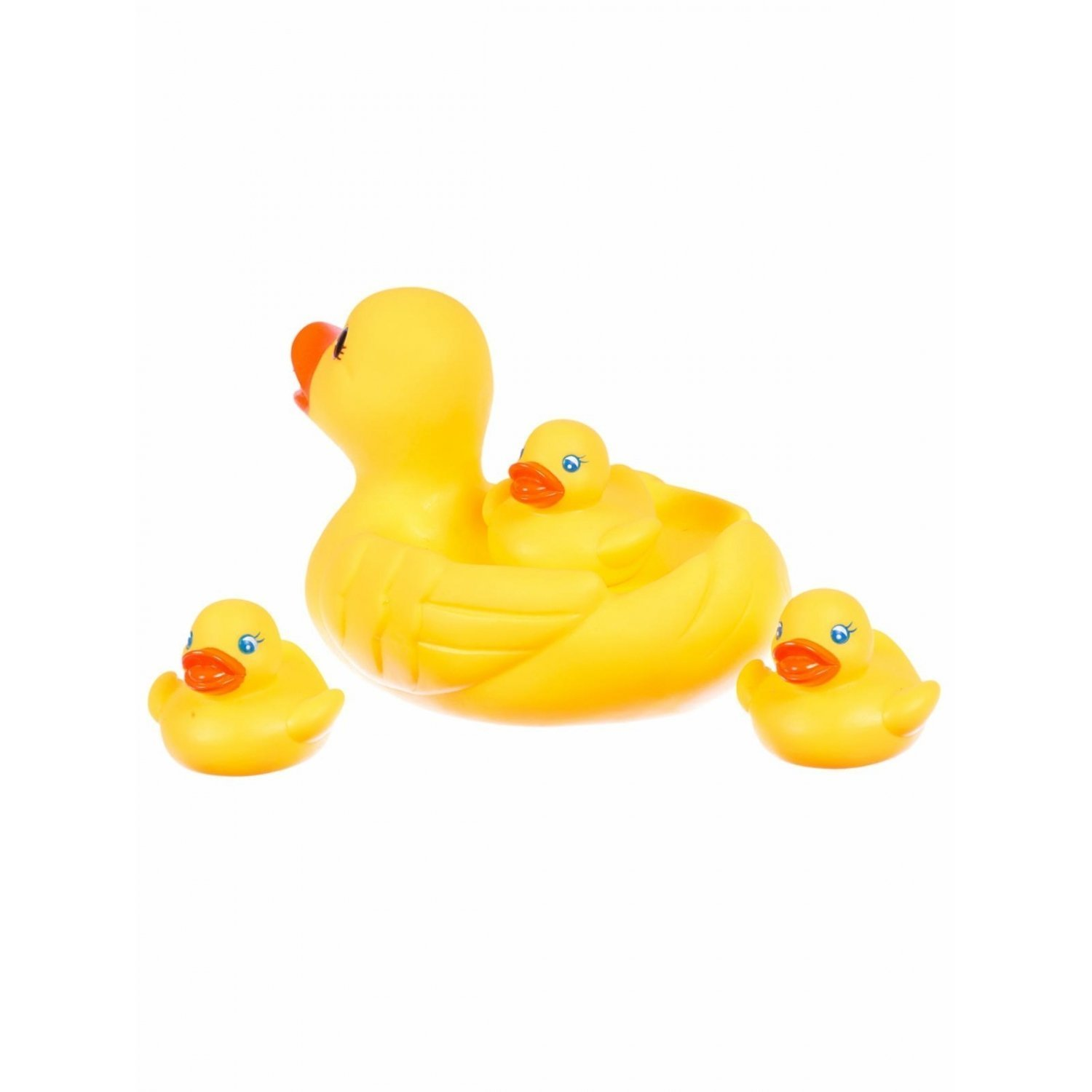 Buy My Angel Rubber Duckies Bath Toys, Multi Color (Set of 4 ...