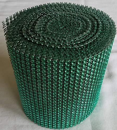 Rhinestone 4 mm Acrylic Crystal 24 Rows Diamond Mesh 4.5