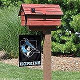 College Flags & Banners Co. Johns Hopkins Blue Jays Black Garden Flag