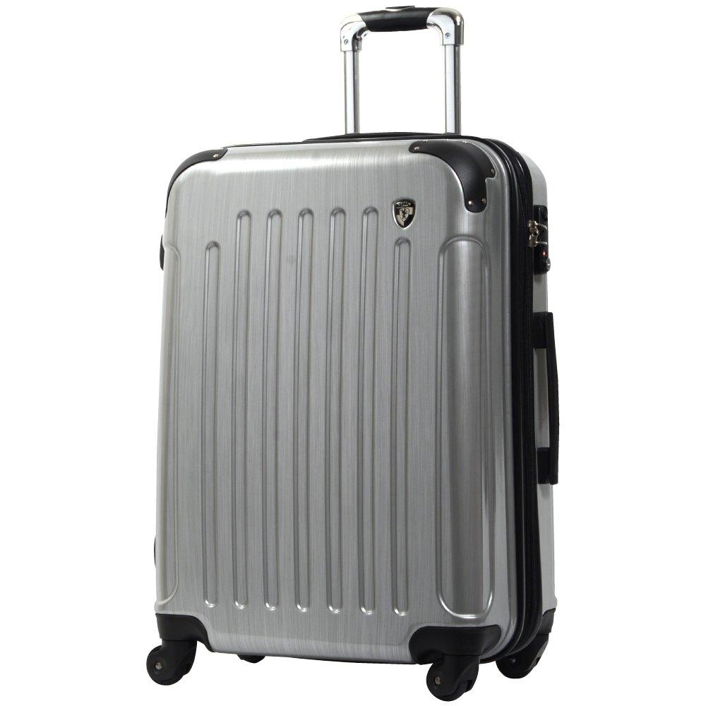 [グリフィンランド]_Griffinland TSAロック搭載 スーツケース 超軽量 ミラー加工 newFK1037 ファスナー開閉式 B0061WVORO M(中)型|スクラッチシャンパン スクラッチシャンパン M(中)型