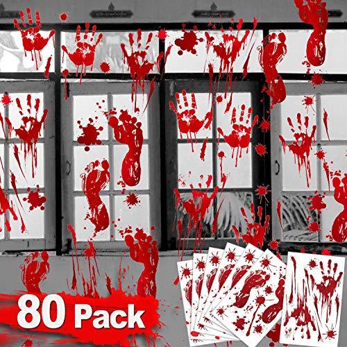 Halloween Decorations Handprint Footprint Supplies product image