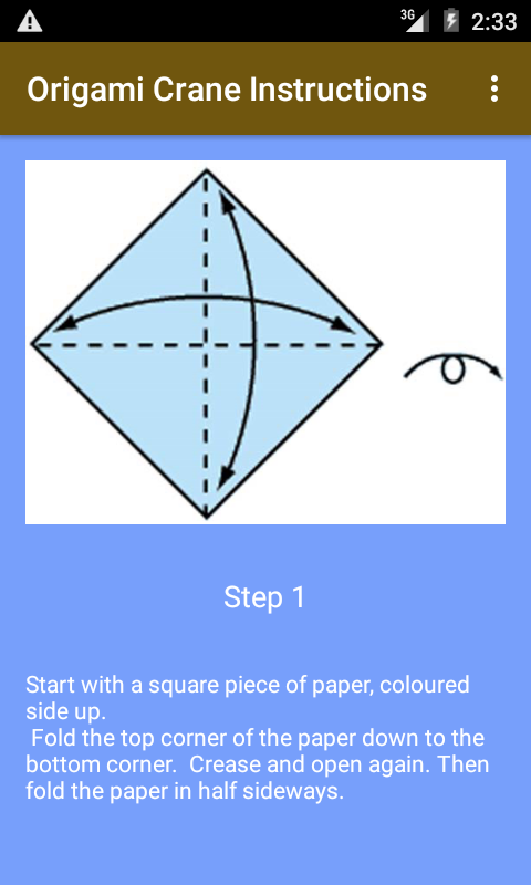 Amazon Origami Crane Instructions Appstore For Android