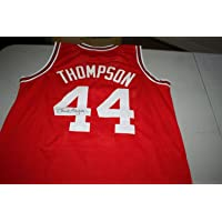 $219 » David Thompson Autographed Signed Nc State Wolfpack #44 Auto Custom Jersey 1974 Champs JSA