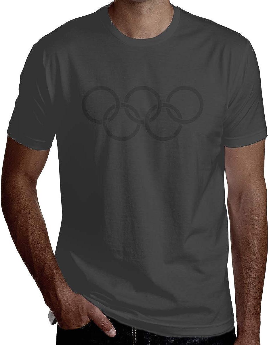 HRSHEN Custom Tokyo Olympic Games Tee for Man O-Neck Black