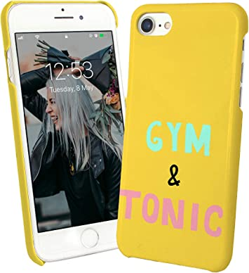 Gym Gin Tonic Funny Quote_002031 Phone Case Cover Carcasa De Telefono Estuche Protector For iPhone 8 Plus iPhone 8s Plus Funny Christmas: Amazon.es: Electrónica