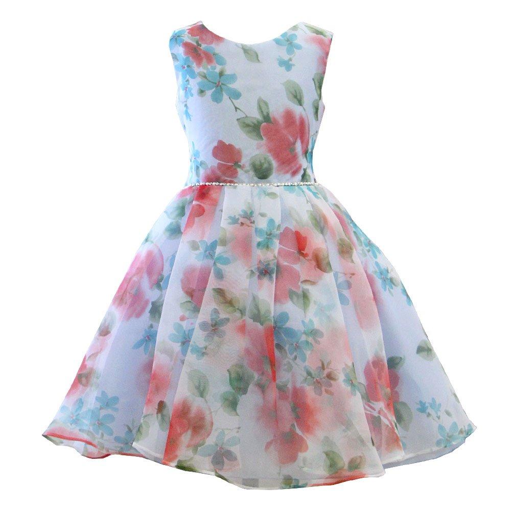 35737fcdaaaab Amazon.co.jp: 子供ドレス 007020 女の子 ワンピース キッズ ジュニア  リトルプリンセス  Little Princess   服&ファッション小物