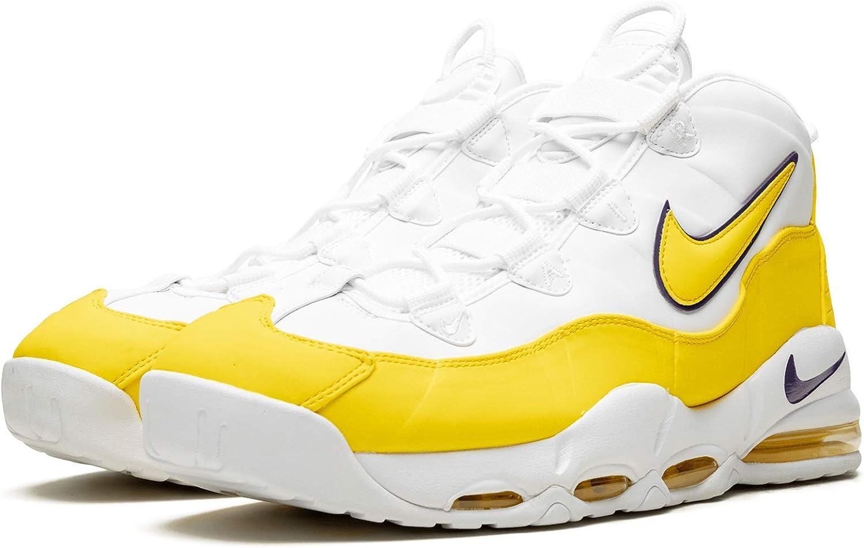 Nike Scarpe da Uomo Sneaker Air Uptempo '95 in Pelle Bianca CK0892 102