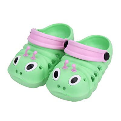Summer Boys Girls Sandals Shoes Caterpillar Anmial Cartoon Style Children Baby Shoes Child Slipper Breathable 1-6 Years