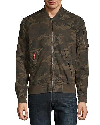 Superdry Men S Rookie Duty Fleece Lined Bomber Jacket