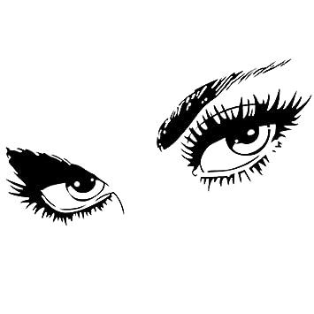 huhushop Audrey Hepburn Beautiful Eyes Wall Art Décor. A Stunning Wall  Decal for Bedroom,