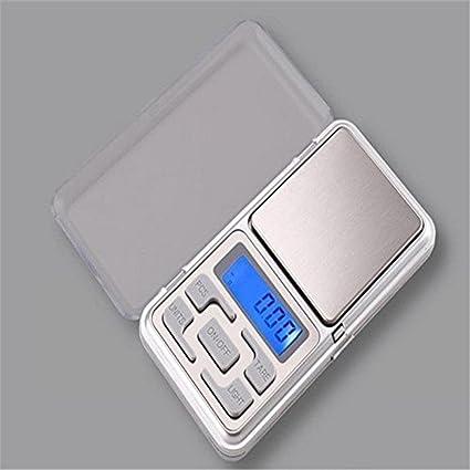 portátil 500g x 0.1g G Mini Digital Escala joyeria Bolsillo Báscula Peso GRAMOS LCD B
