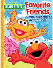 Bendon 41733 Sesame Street 64-Page Jumbo Coloring and Activity Book