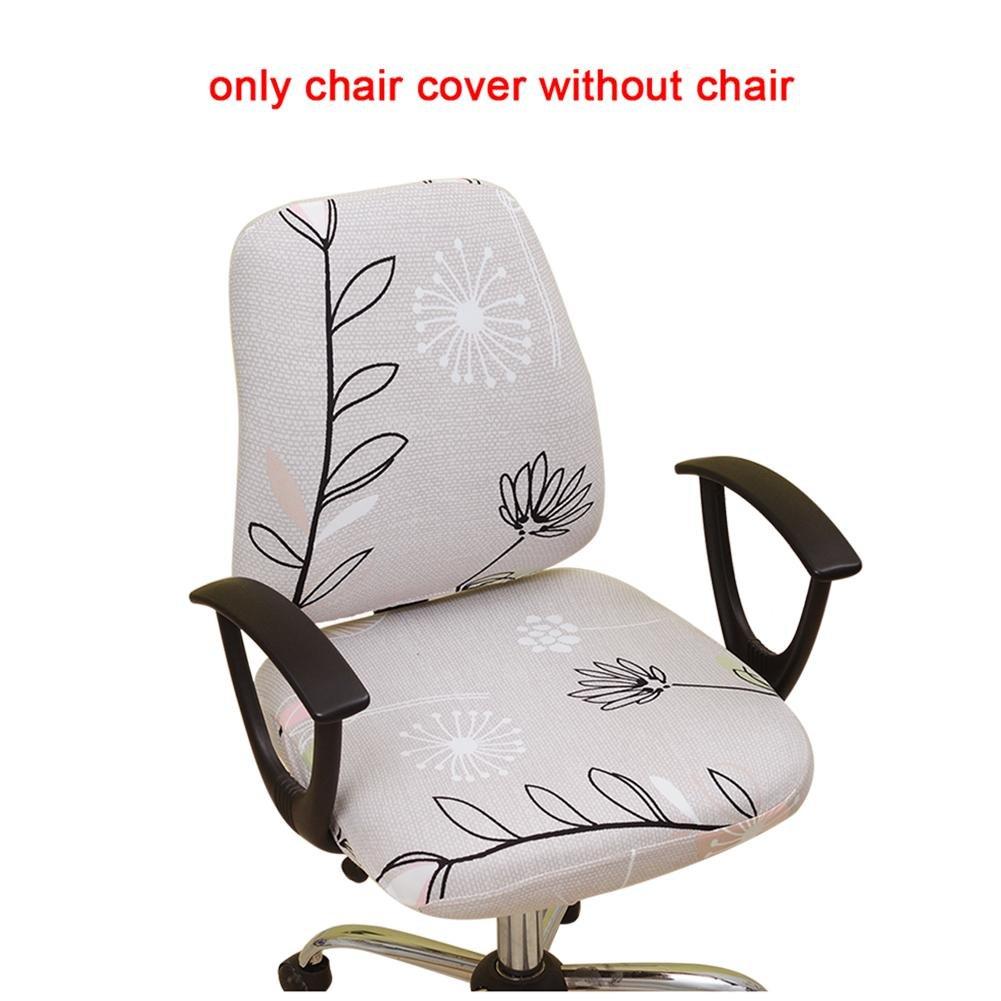 A Sedia copertura della sedia ufficio Futurepast Slipcover elastico poltrona da ufficio della sedia ufficio girevole sedia girevole sedia sedia da computer