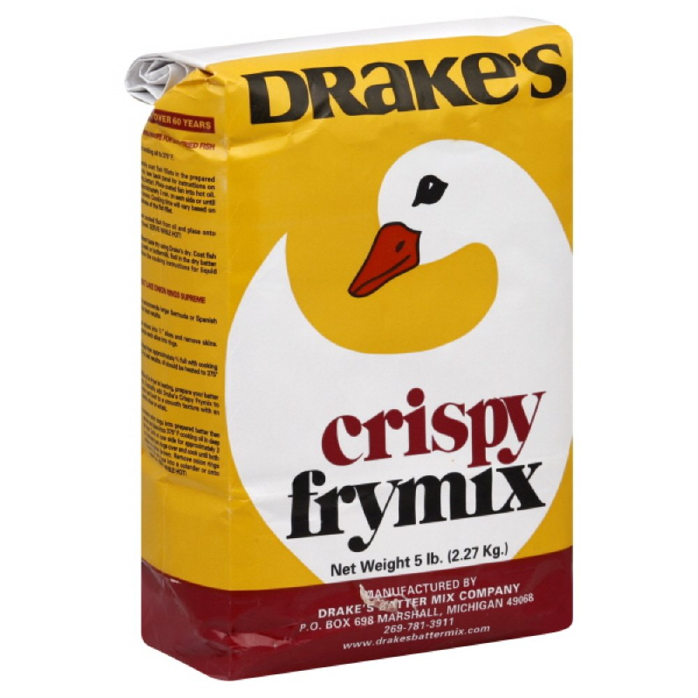 Drakes Batter Mix, 5-pounds (Pack of 2) by Drakes