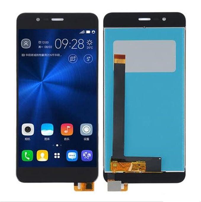ASUS Zenfone 3 Max ZC520TL Display im Komplettset LCD Ersatz Für Touchscreen Glas Reparatur (Schwarz)