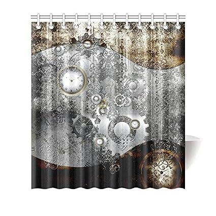 Amazon Find Arts Custom Shower Curtain Steampunk In Vintage
