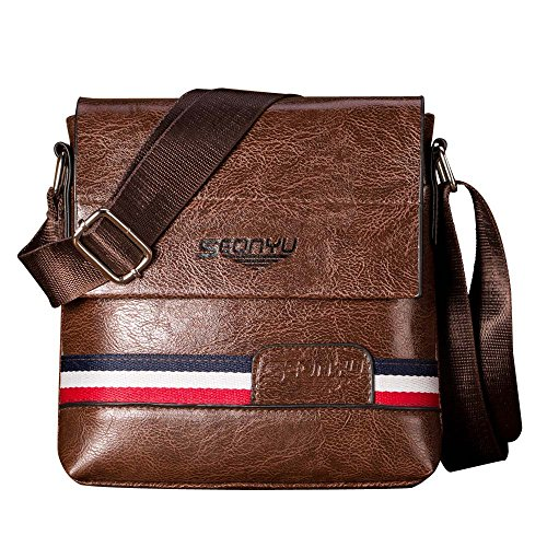Bag Sling Coffee Lonshell Tote Leather With Travel Business Detachable Designer Flap Crossbody Handbag Waterproof C Strap Chest Mens Shoulder gRXHHwxqtn