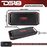 DS18 GEN-X2000.2D Full Range Bridgeable 2-Channel