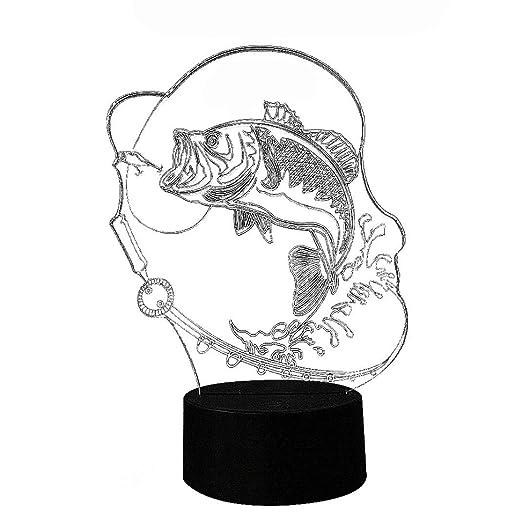 Amazon Com 3d Illusion Ocean Strong Big Fish Art Sculpture