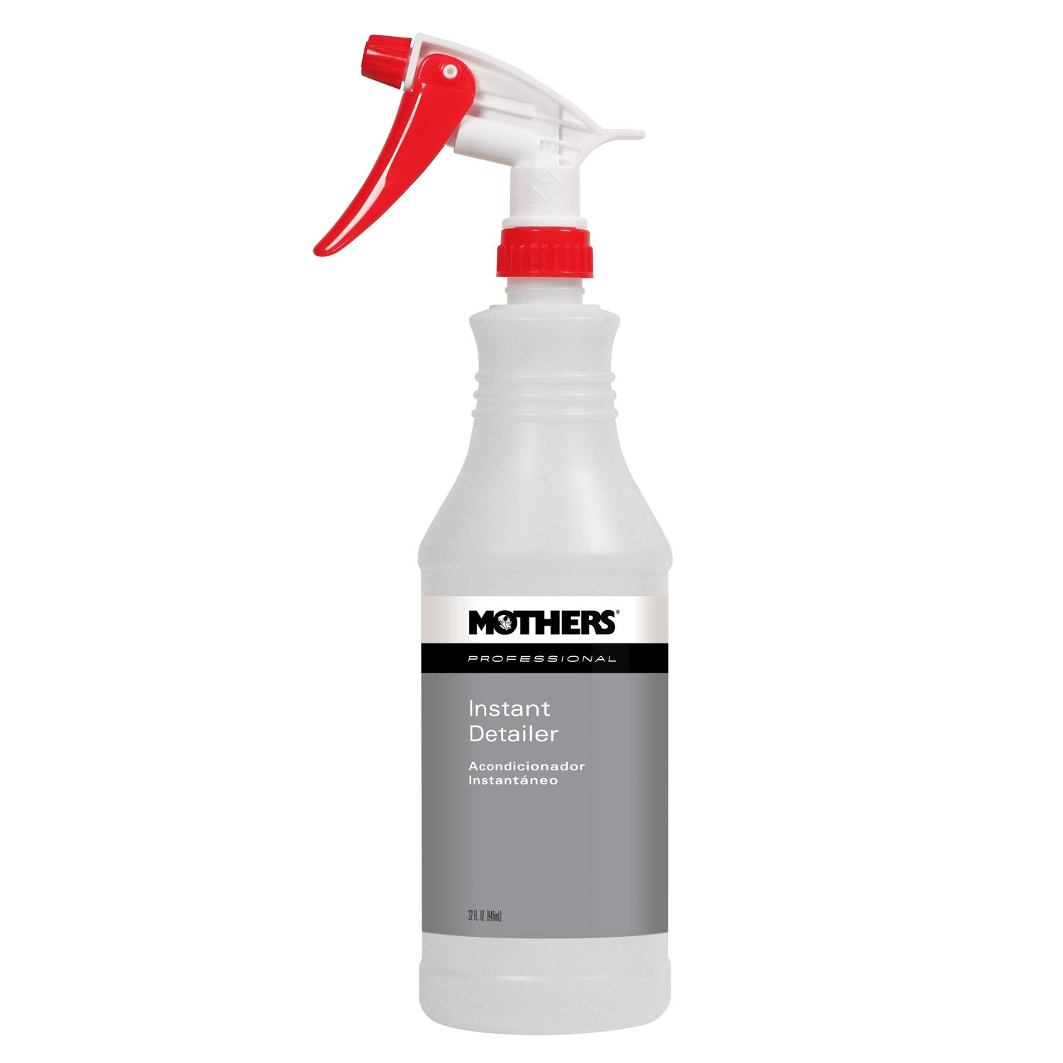Mothers 85632-12 Professional Instant Detailer Refillable Spray Bottle, (Pack of 12)