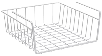 Amazon.com: Under Shelf Basket Wire Rack - Easily Slides Under ...