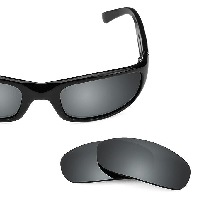 5200ace2cab7 Revant Polarized Replacement Lenses for Maui Jim Stingray MJ103 Black  Chrome MirrorShield