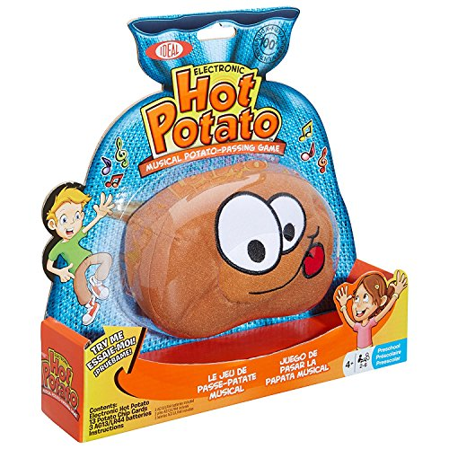 Hot Potato Electronic Musical Passing Game (Full pack with 3 AG13/LR44 batteries)