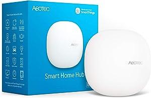 Aeotec Smart Home Hub, Works as a SmartThings Hub, Z-Wave Zigbee Gateway, Compatible with Alexa, Google Assistant, WiFi