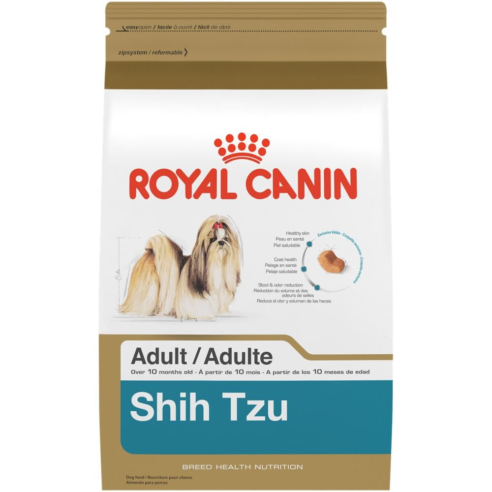 Royal Canin BREED HEALTH NUTRITION Shih Tzu Adult dry dog food, 10-Pound