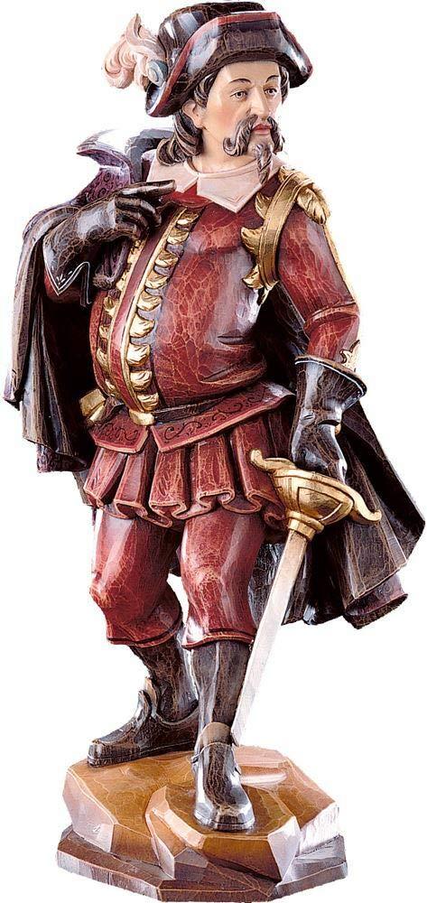 Holzschnitzerei Oswald Amort Matamaros   18 cm   Natur - Unbemalt Farbe - mit  arben Bemalt 13 cm
