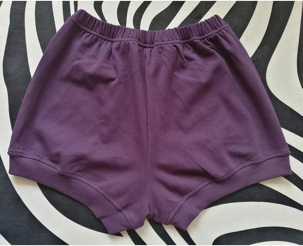 weicher Stoff rosa Baumwolle Iyengar Shorts NONE BRANDED Luhayesa Professionelle Iyengar Yoga-Shorts f/ür Damen