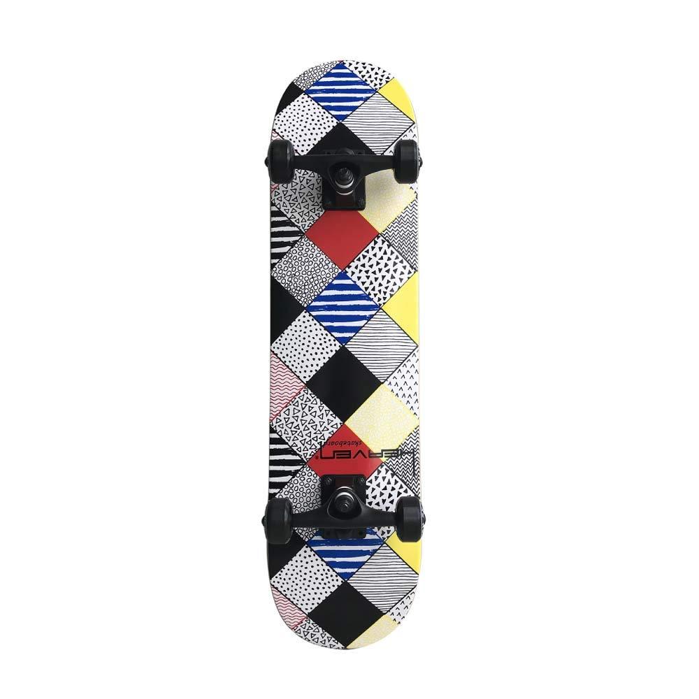 アウトレット商品 HEAVEN スケートボード 31×7.75 マジックスクエア コンプリート ヘブン ABEC7